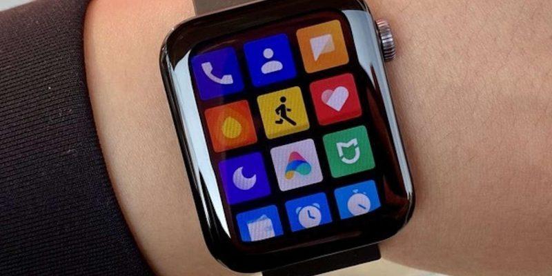 Redmi готовится выпустить свои первые умные часы (xiaomi mi watch foto 1)