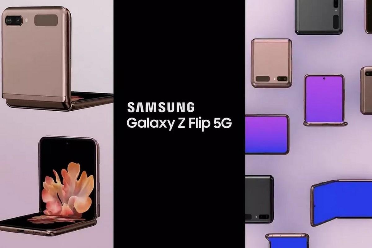 В сеть утекло рекламное видео смартфона Samsung Galaxy Z Flip 5G (z flip 5g.0 large)
