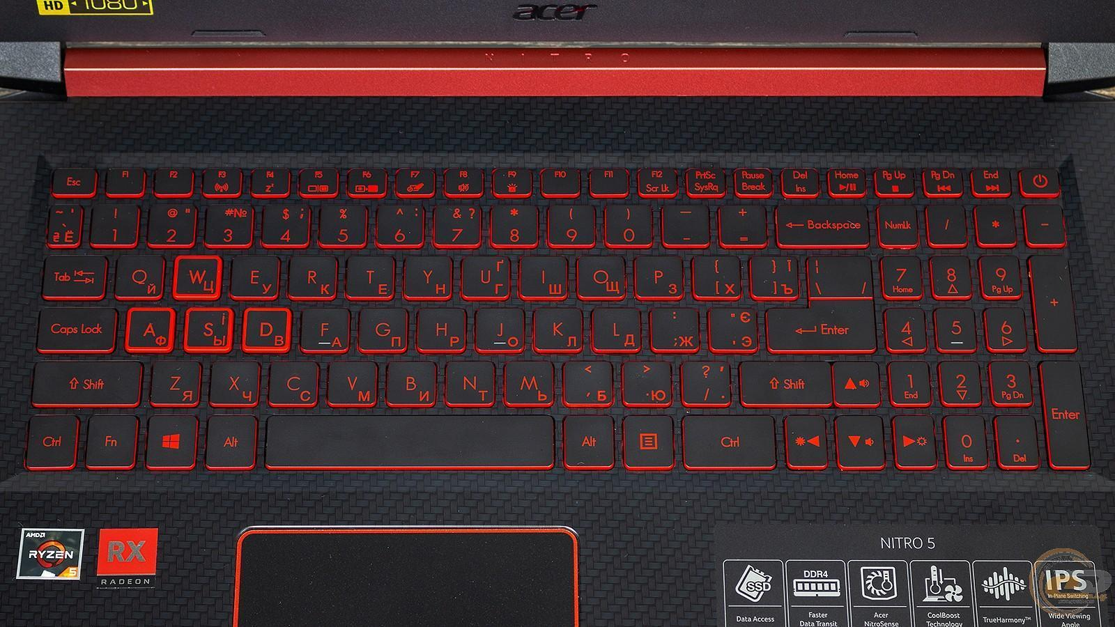 Acer представила в России новые ноутбуки для геймеров Nitro 5 (10 acer nitro 5)