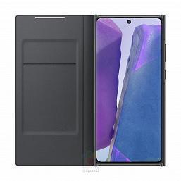 Вот как будут выглядеть чехлы для Samsung Galaxy Note20 (2)