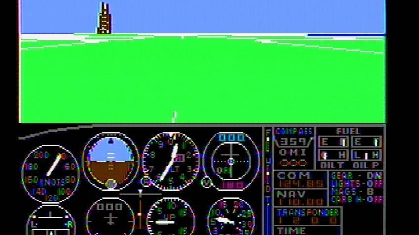 Microsoft выпустила видеоролик, посвящённый серии игр Microsoft Flight Simulator ()