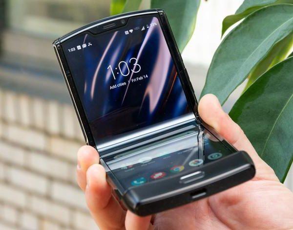 Вот как будет выглядеть складной смартфон Motorola Razr 5G (bez nazvanija 5)