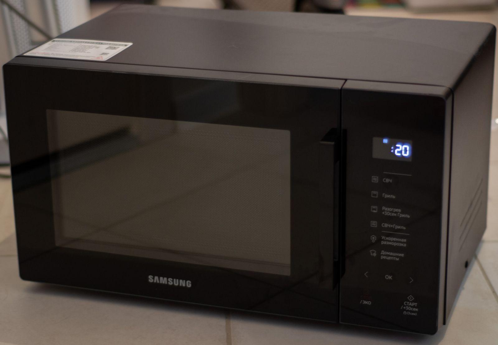 Обзор микроволновой печи Samsung MW5000T: красивая необходимость (dsc 8973)