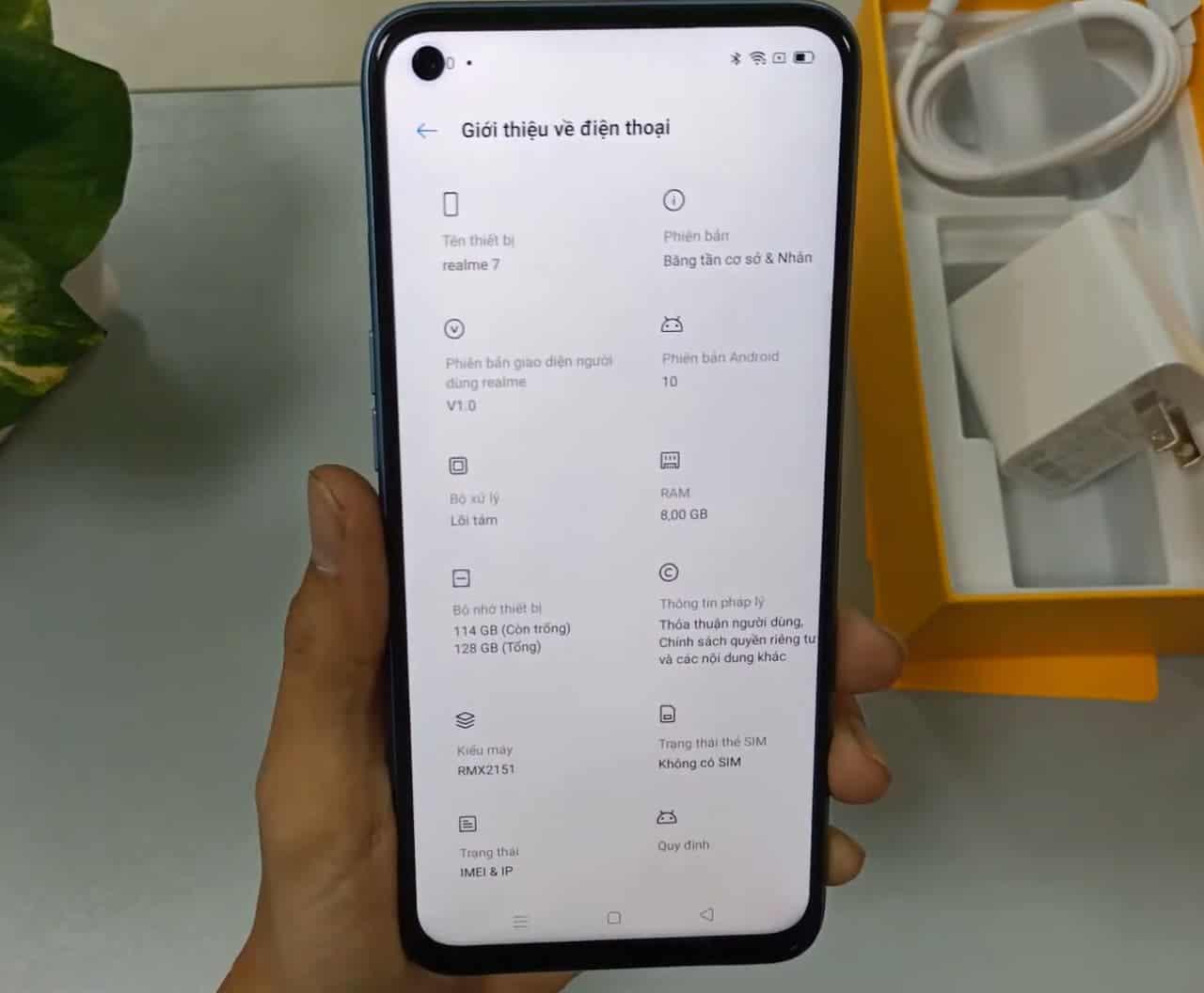 В сеть утекли подробные характеристики и изображения смартфона Realme 7 (egko nquyae0l9o)