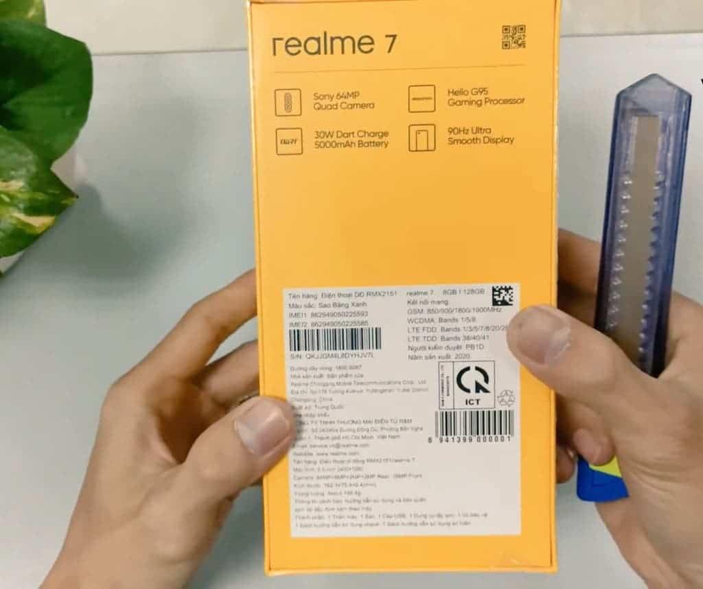 В сеть утекли подробные характеристики и изображения смартфона Realme 7 (egko)
