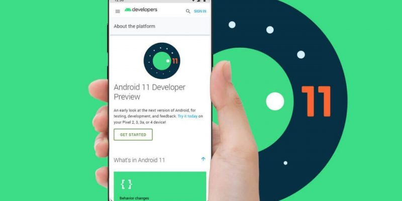 OnePlus 8 и 8 Pro получили Android 11 Developer Preview 3 (google releases android 11 developer preview 1280x720 1)
