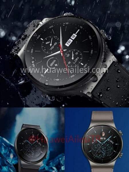 В сеть утекли официальные изображения Huawei Watch GT2 Pro (gt2 pro watch)