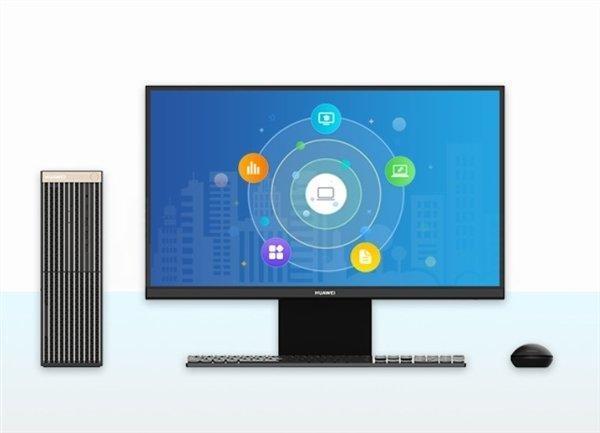 В сеть слили рендеры первого настольного ПК Huawei (huawei desktop pc 4)
