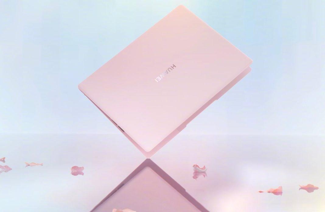 Core i7, 3К-экран и инновационный тачпад. Huawei представила MateBook X 2020 (huawei matebook x 2020 cherry blossom powder 1068x697 1)