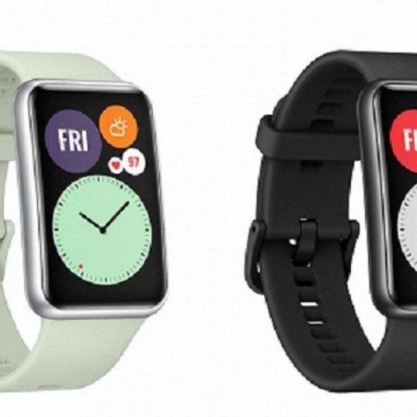 В сеть слили характеристики часов Huawei Watch Fit (huawei watch fit)
