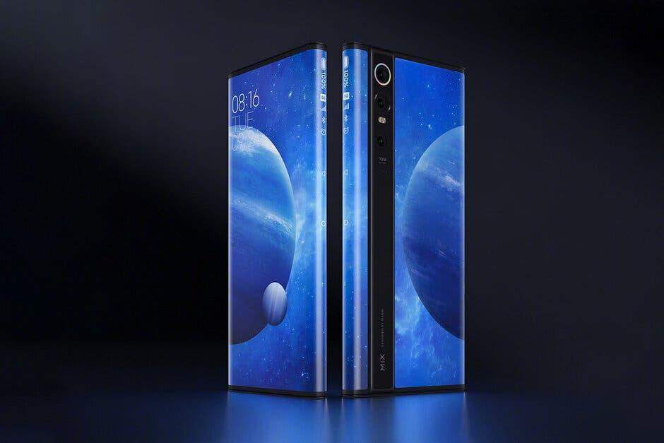 Xiaomi Mi Mix Alpha не поступит в продажу (if xiaomis insane mi mix alpha concept seems familiar this apple patent could be why)