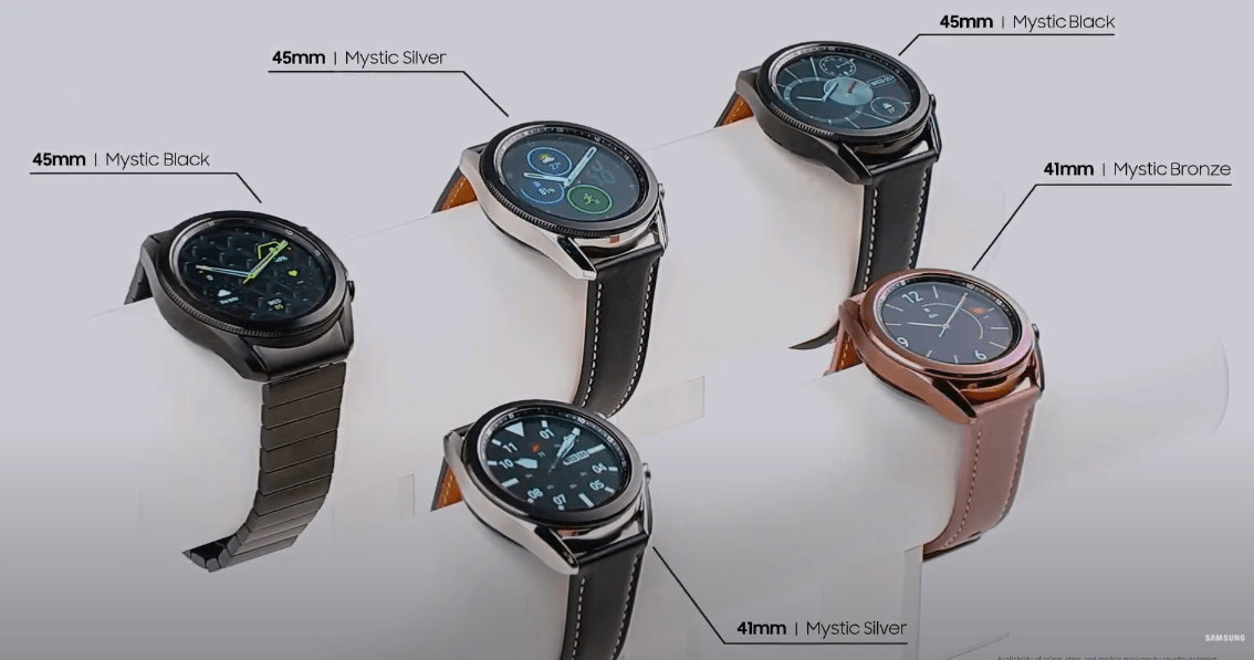 Samsung выпустил новые умные часы Galaxy Watch3 (image 13)
