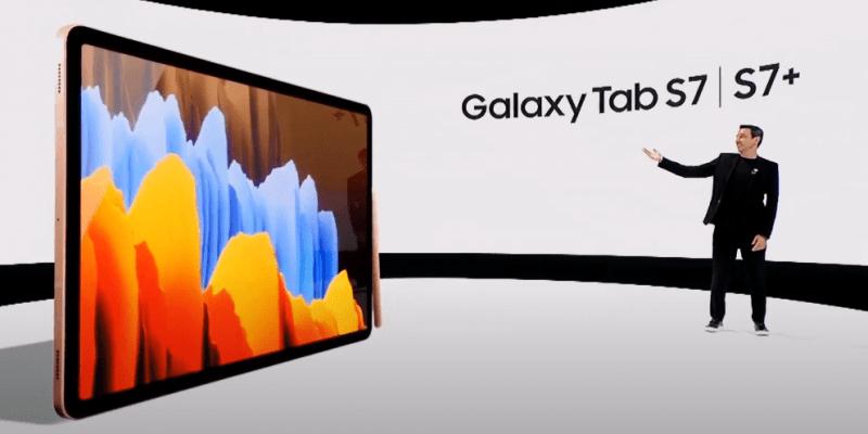 Samsung анонсировал планшеты Galaxy Tab S7 и S7+ (image 2)