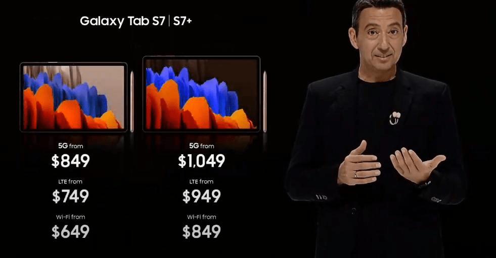 Samsung анонсировал планшеты Galaxy Tab S7 и S7+ (image 26)