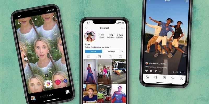 У TikTok появился новый конкурент. Instagram официально запускает видеосервис Reels (instagram reels)
