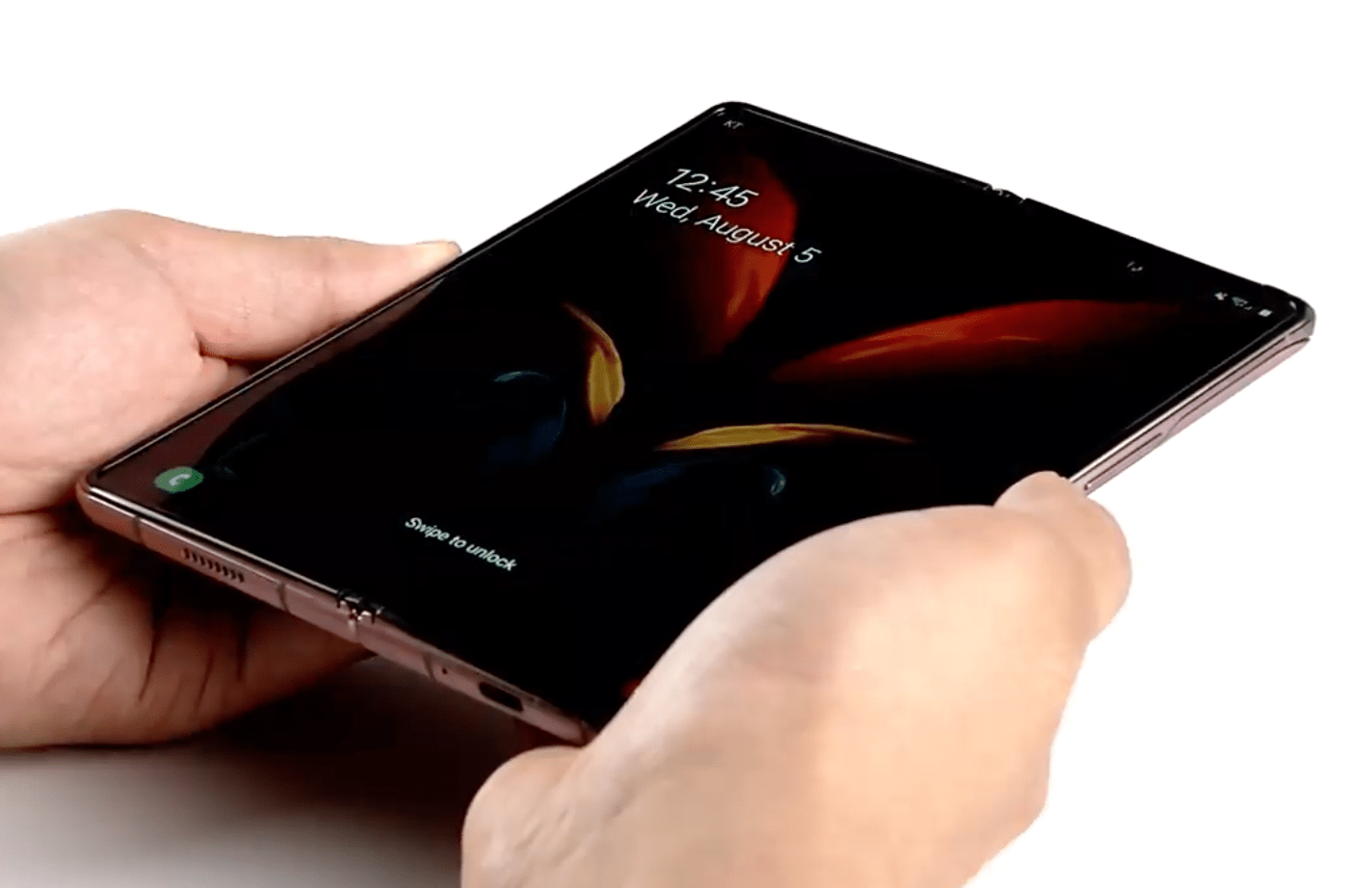 Внешний дисплей Samsung Galaxy Z Fold 2 будет защищён Gorilla Glass Victus (master)