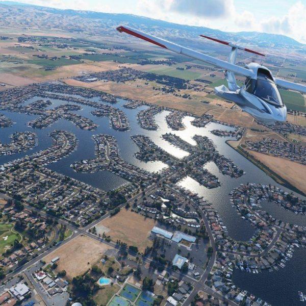 Microsoft выпустила видеоролик, посвящённый серии игр Microsoft Flight Simulator (microsoft flight simulator image 2)