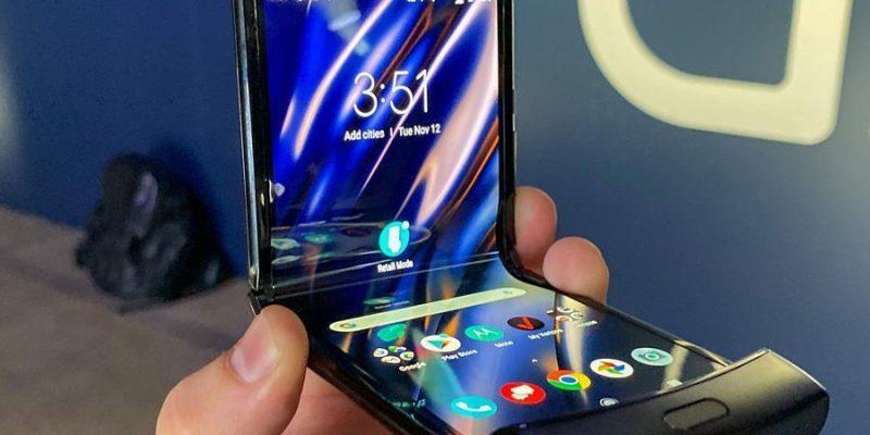 Motorola анонсирует новый складной смартфон 9 сентября (motorola razr)