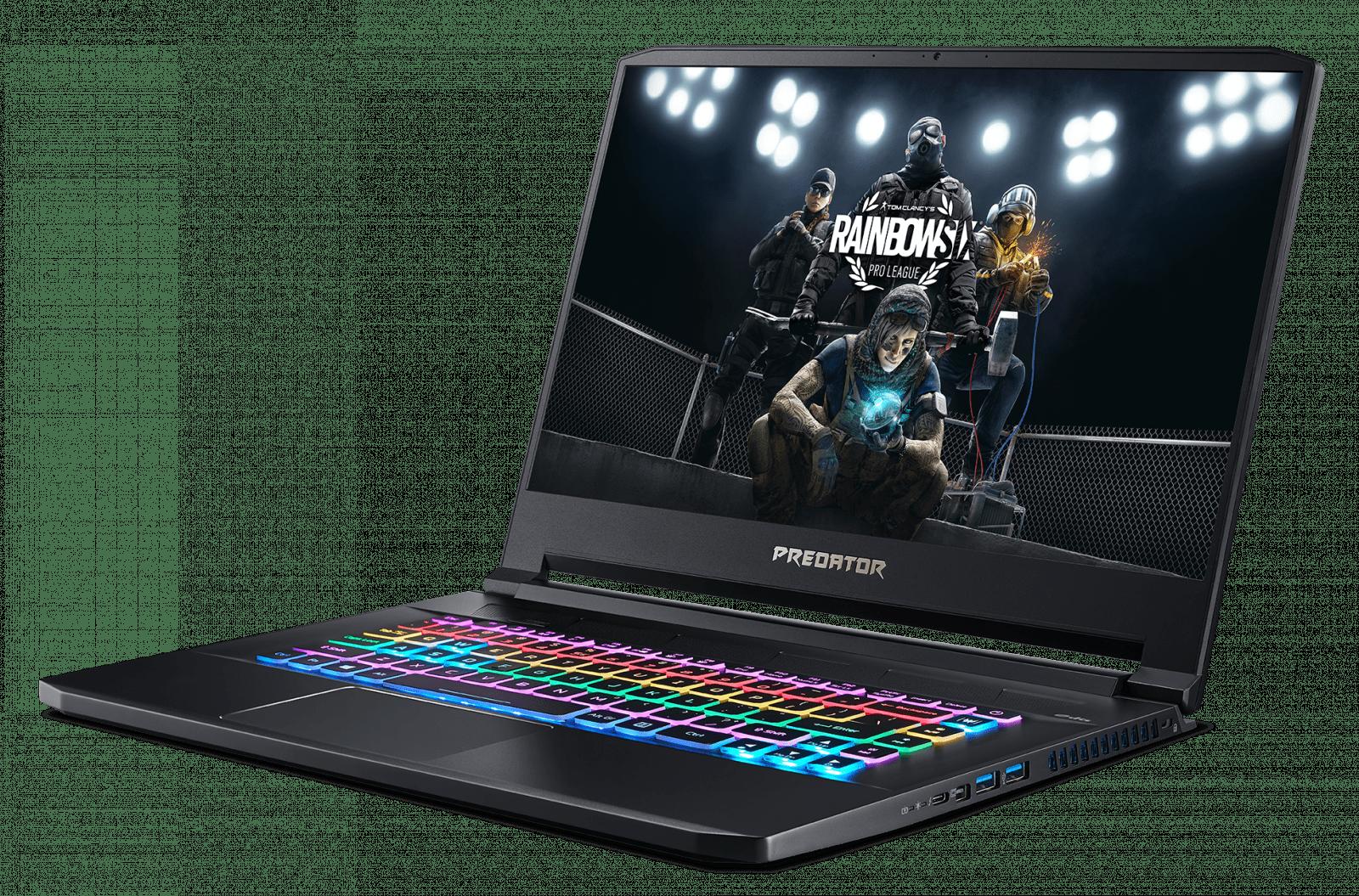 Acer представил ноутбуки Predator Helios и Triton 500 (predator triton 500 pt515 52 wp jumpstart 03 rgb key backlit)