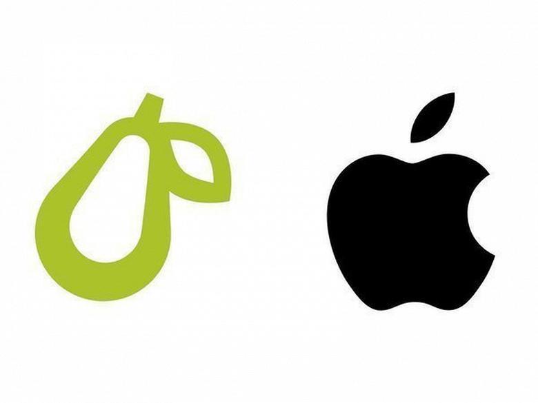 "Apple начала борьбу с ""фруктовыми"" логотипами (prepear vs apple large)"