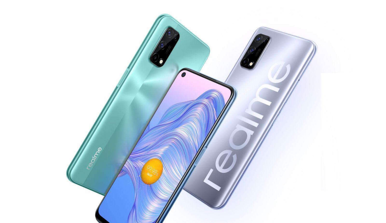 Realme представила смартфон Realme V5 (realme v5 5g featured)