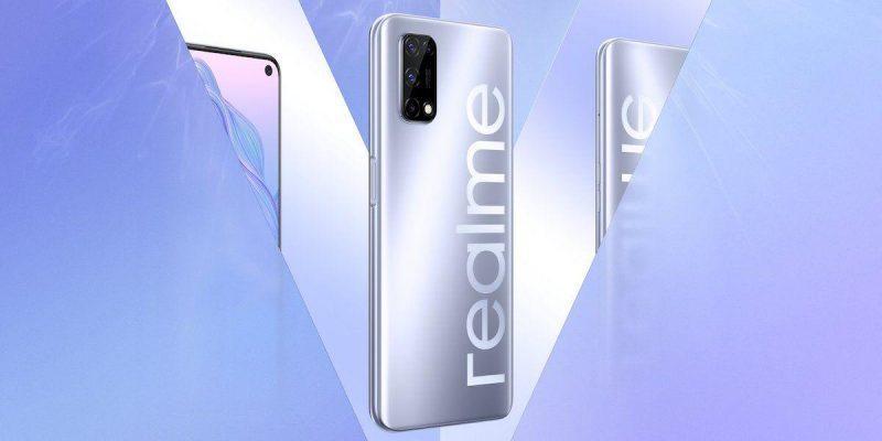 Realme представила смартфон Realme V5 (realme v5 design image)