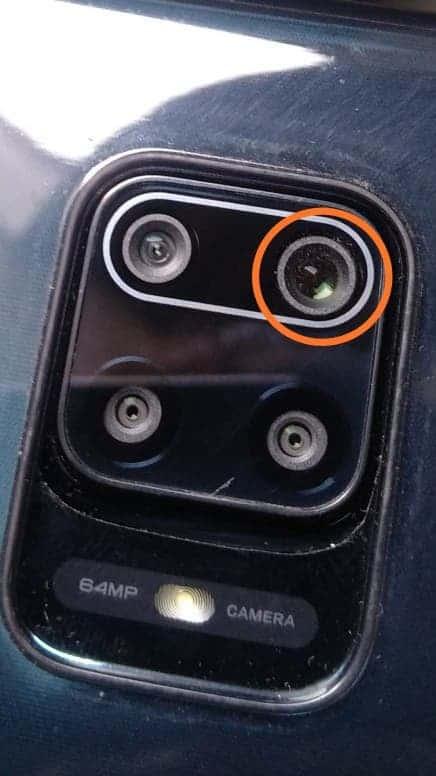 У серии Redmi Note 9 обнаружена серьёзная проблема с основной камерой (redmi note9 camera dust image)