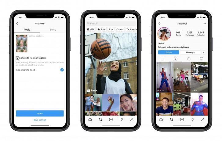У TikTok появился новый конкурент. Instagram официально запускает видеосервис Reels (reels)