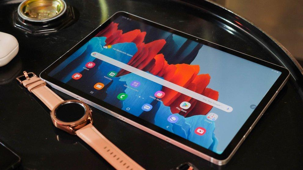 Samsung представил планшет Galaxy Tab S7 (samsung galaxy tab s7 q giga 7)