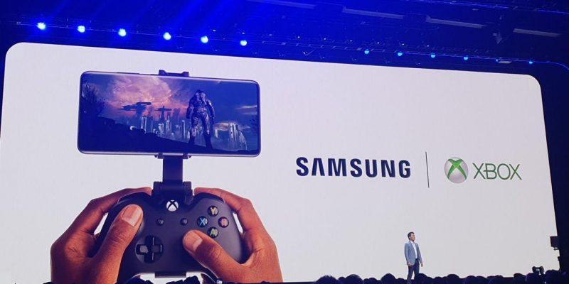 Samsung анонсировал сотрудничество с Xbox (samsung microsoft xbox)