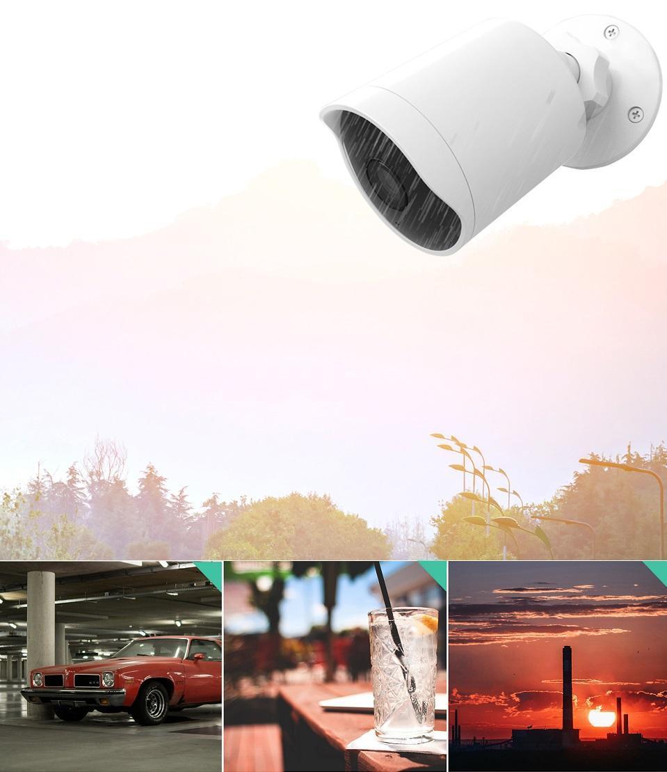 Камеры видеонаблюдения YI Technology: умные технологии для безопасности близких (yi outdoor c11mera 03)