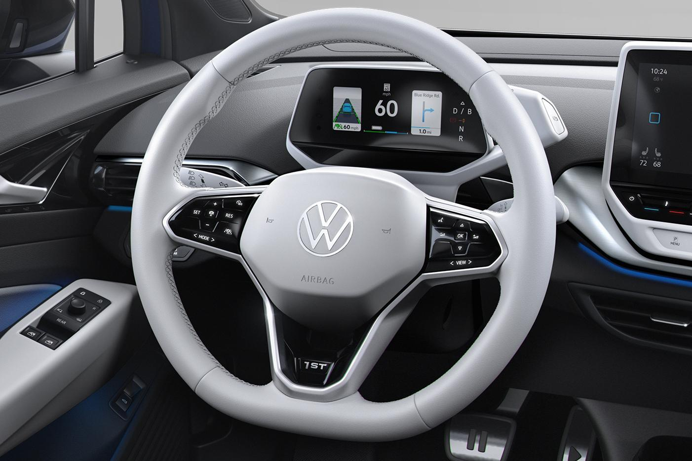 Volkswagen показала свой первый электрокроссовер (1 10)