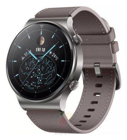 Будущие умные часы Huawei Watch GT2 Pro полностью рассекречены (1 2)