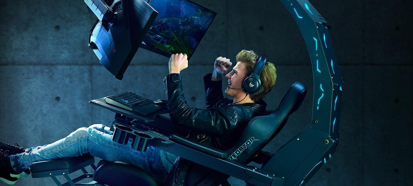 Acer представила новую версию игровой капсулы Predator Thronos Air (368558 liyn12sAWT control large)