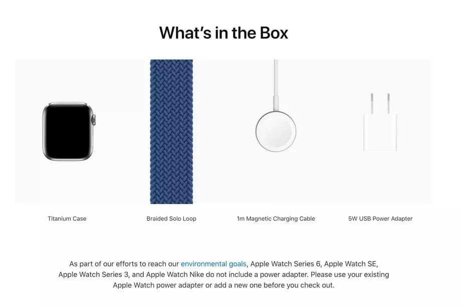 В комплекте Apple Watch Series 6 не будет зарядного устройства (3btcvch768hm)