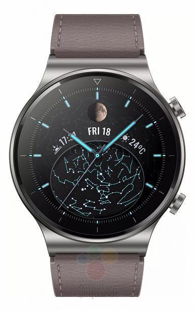 Будущие умные часы Huawei Watch GT2 Pro полностью рассекречены (5)