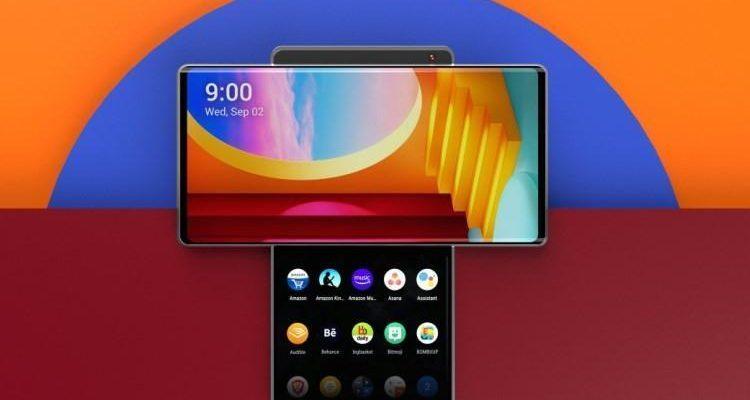 Появились первые рендеры смартфона LG Wing с вращающимся дисплеем (922)