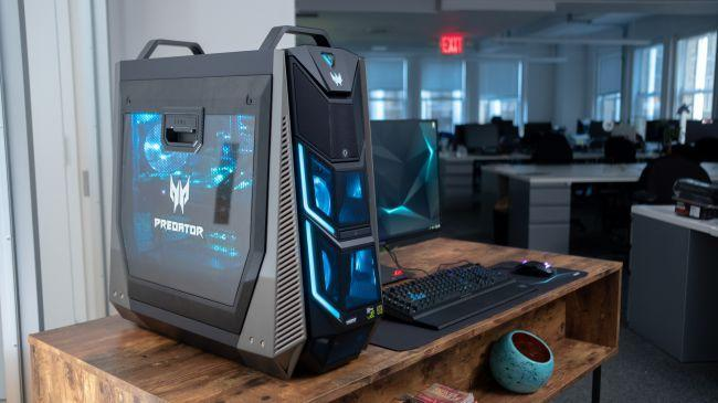 В ПК Predator Orion будут новые видеокарты NVIDIA RTX 30 (Acer Predator Orion 9000 01)