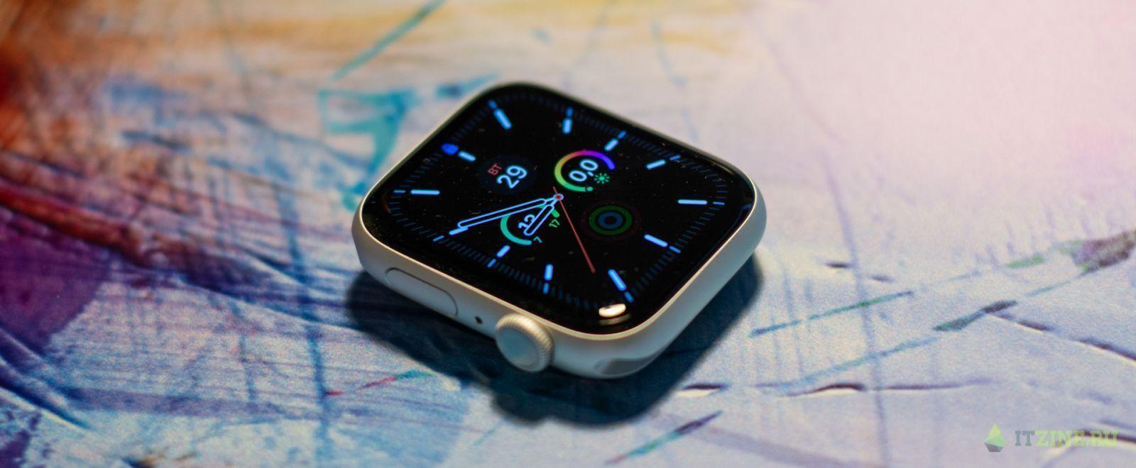 Часы Apple Watch series 6 во всей красе без ремешка