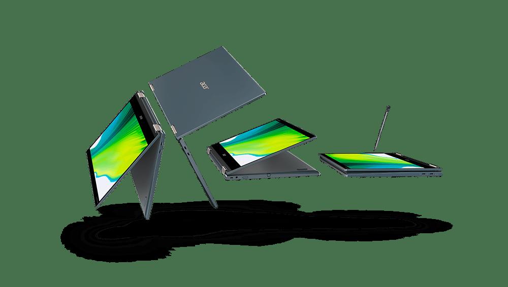 IFA 2020. Первый ноутбук с процессором Snapdragon 8cx - Acer Spin 7 (acer spin7 sp714 61na 02)