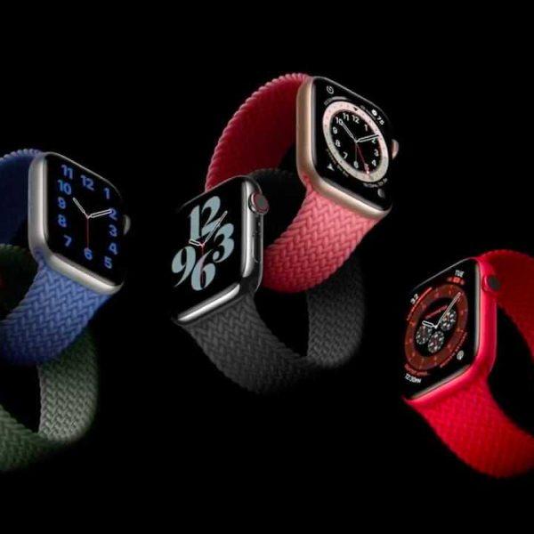 Взгляните на новые монобраслеты для Apple Watch (apple watch braided band min)