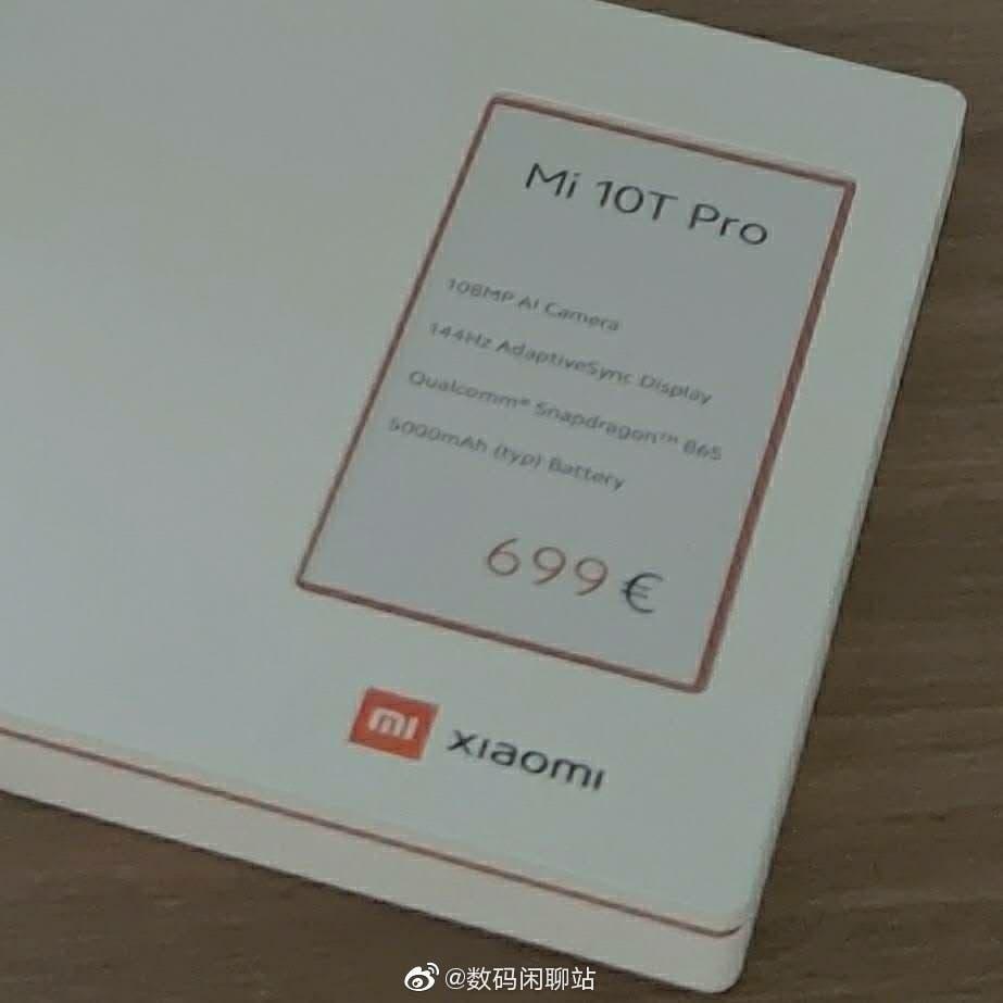 Рассекречена цена смартфона Xiaomi Mi 10T Pro (c0c0938530eb4ef782fa4c8ade2d183a)