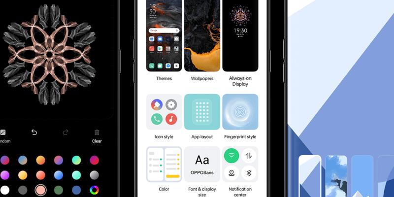 OPPO выпустила новую ColorOS 11 на базе Android (coloros 11 feature images customization ui)