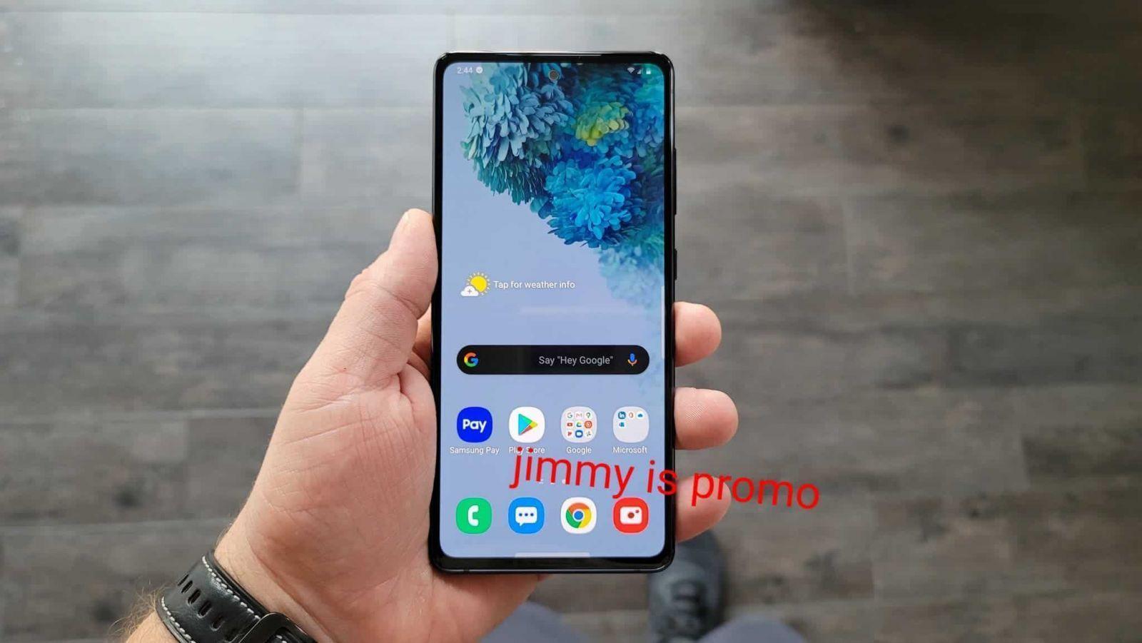 В сети появились изображения Samsung Galaxy S20 Fan Edition ()