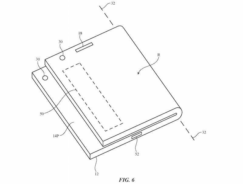 Apple может готовить складной iPhone (foldable iphone)