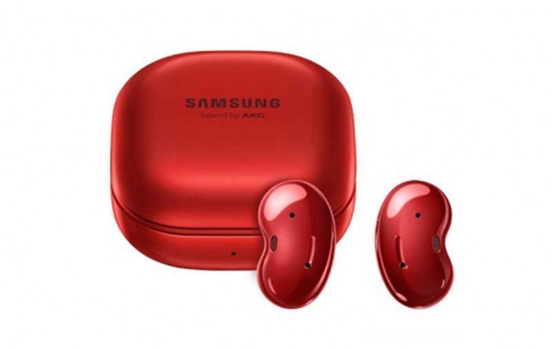 Наушники Samsung Galaxy Buds Live доступны в новых цветах (galaxy buds live red)