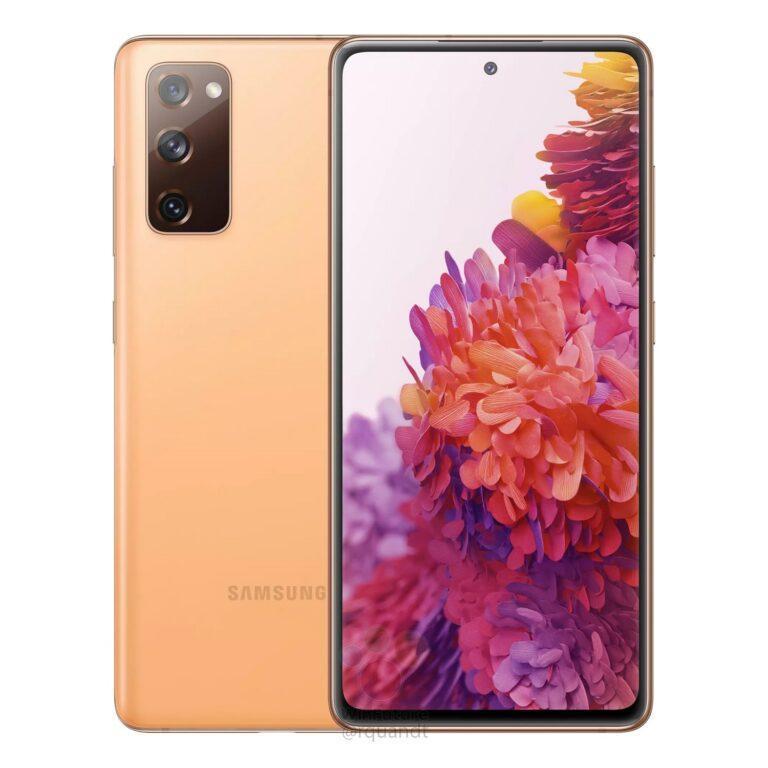 Samsung Galaxy S20 FE: характеристики и рендеры (galaxy s20 fe orange render leak 768x768 1)