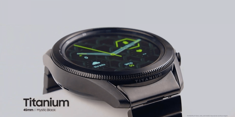 Samsung выпустила титановые Galaxy Watch 3 (galaxy unpacked august 2020 livestream 1 29 14 screenshot)
