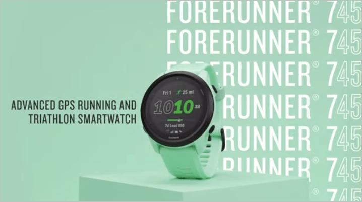 Garmin представил обновленные часы для бега и триатлона Forerunner 745 (garmin forerunner 4)