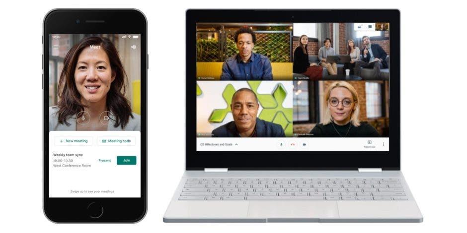 В Google Meet для Android и iOS появилась функция шумоподавления (google meet)